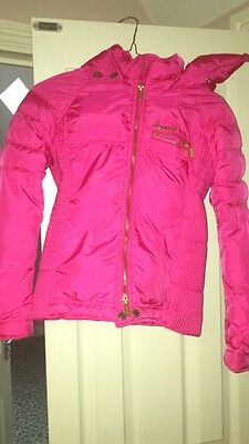 D-Squared Feathered Pink Coat, Age 12