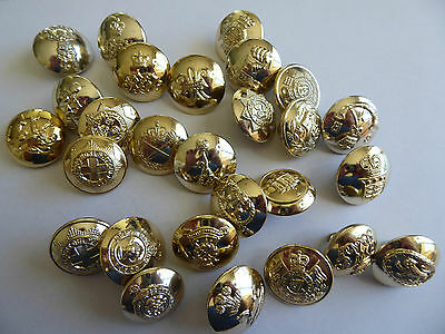 lot of Vintage Australian or British Army buttons