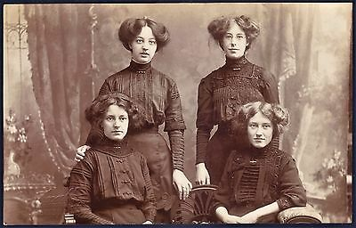 c1907 Edwardian Real Photo Postcard by Geo.Foxall, Shepton Mallet