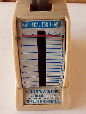 Vintage 1960s 1970s Small Weight Watchers Scales