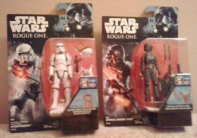 Pack 2 Star wars.Rogue One:Stormtrooper+Imperial Ground Crew