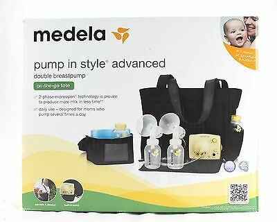 Double Electric Breast Milk Pump Medela Pump In Style Advanced New