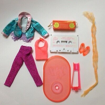 Vintage Jem DANSE of The HOLOGRAMS Doll Clothes And Accessories