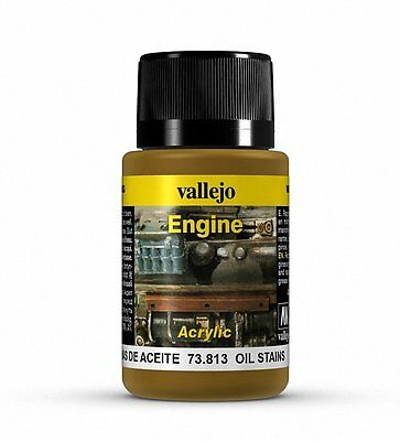 Vallejo Paints: Weathering Effects: Oil Stains (17ml)
