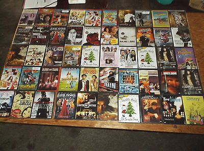 Wholesale Lot Of 50 New Dvd's Mixed Variety
