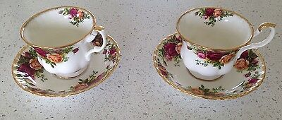 Old Country Roses Royal Albert Teacup And Saucer X 2