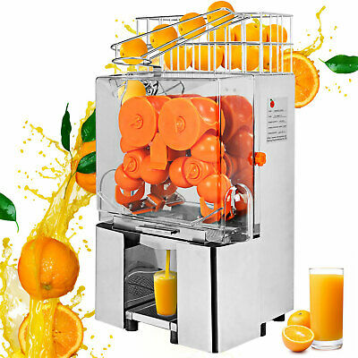 Commercial Electric Orange Squeezer Juice Fruit Maker Juicer Press Lemon Citrus