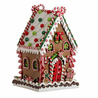 Raz Imports 13.5 Gingerbread House - NEW