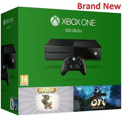 Brand New Xbox One 500GB Console with Rare Replay and Ori Games