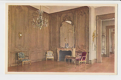 Postcard France PARIS Gorgeous Paneled Room French Louis XV Period Vintage Card