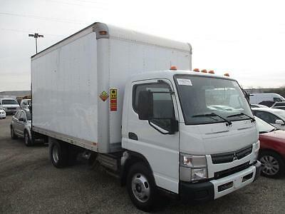 12 Mitsubishi Fuso Canter Diesel Box truck Lift 74K MLS 1Owner Clean $22900/OBO