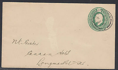 BB161010 KEVII Halfpenny Stationary Cape of Good Hope 1910 ENVELOPE rare used