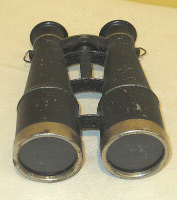 Vintage Antique Binoculars field glasses WWII Era