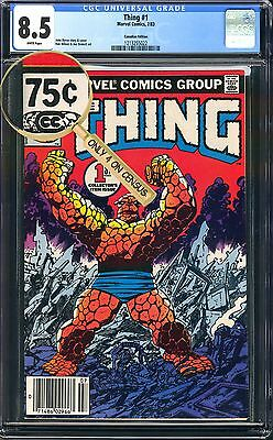 Thing #1 CGC VARIANT 75 Cent Classic John Byrne Story & Cover Canadian Newsstand