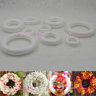 Handmade Foam Ring Polystyrene Styrofoam DIY New Decorations Party Accessory