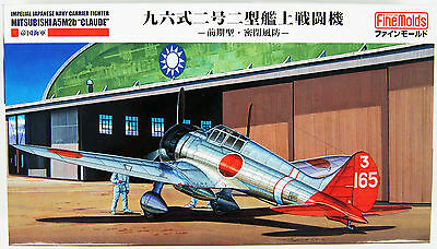 """Fine Molds FB20 IJN  Carrier Fighter Mitsubishi A5M2b """"Claude"""" 1/48 Scale Kit"""