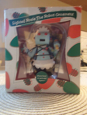 Vintage*lighted Rosie The Robot Ornament From The Jetsons Cartoon.*