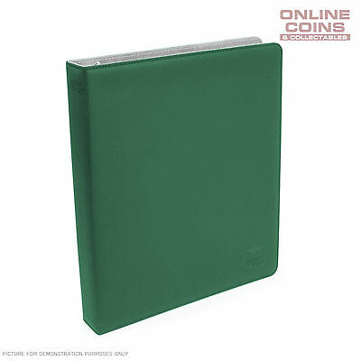 Ultimate Guard SUPREME COLLECTOR'S ALBUM SLIM XENOSKIN - GREEN + 20 PAGES
