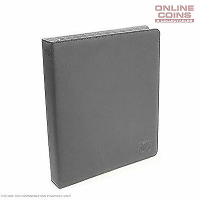 Ultimate Guard SUPREME COLLECTOR'S ALBUM SLIM XENOSKIN - GREY + 20 PAGES