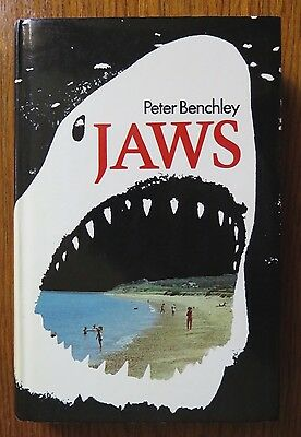 Jaws Peter Benchley 1st UK Edition Hardcover Book 1974