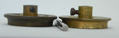 Meccano PN20  Flanged Wheels, two, matching depth