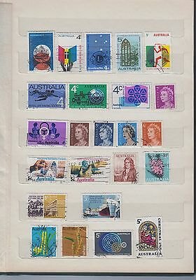 24 Mixed stamps issued 1966 - 1969