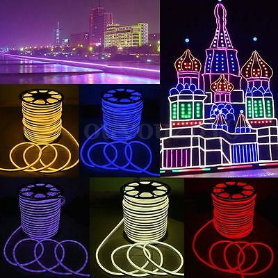 1-30M 2835 LED Flexible Neon Rope Strip Light Xmas Outdoor Party Waterproof