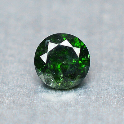 0.10 Cts  FANCY SPARKLING GREEN COLOR NATURAL LOOSE DIAMONDS