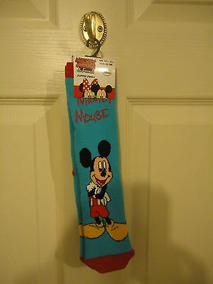 Mickey Mouse Slipper Socks UK 12.5 - 3.5  EUR 31 - 36