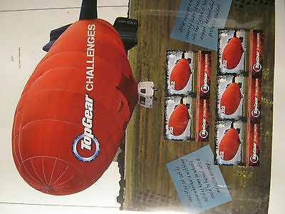 IOM UNMOUNTED MINT 2011  TOP GEAR CHALLENGES 2 SHEETS FACE £9…50p