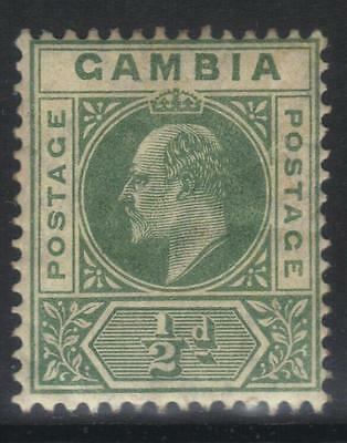 Gambia 1904-1906 Definitives Sg57 M/m