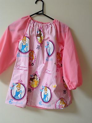 Kids Princess Art Smock Girls  8-10 With Thermal Backing For Extra Protection