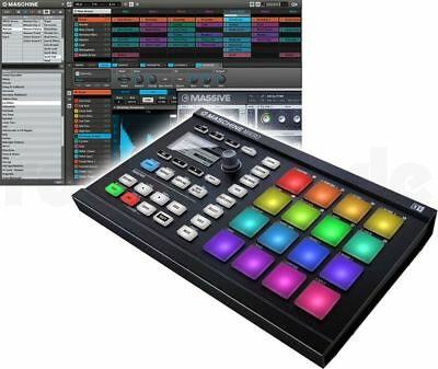 Native Instruments Maschine Mikro MK2 BK schwarz Groove Box Production Studio