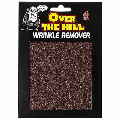 Over the Hill Wrinkle Remover Prank Joke Fun Gift Old Age Birthday Valentines