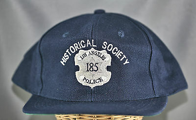 Obsolete Los Angeles Historical Society Police Snap Back Cap With Badge