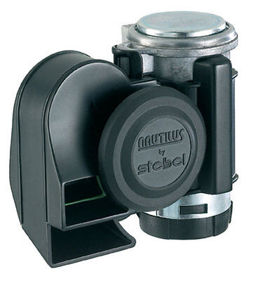 Stebel Hupe NAUTILUS COMPACT BLACK  12V  Signalhorn / Hupe