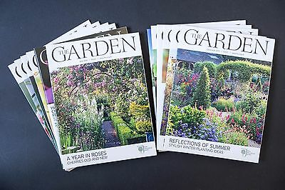 THE GARDEN RHS magazine - 2010 full year of all 12 issues - excellent condition