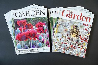 THE GARDEN RHS magazine - 2011 full year of all 12 issues - excellent condition