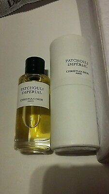 Mini Perfume Miniature Dior Patchouli Imperial 7,5 Ml Very Rare With Box New