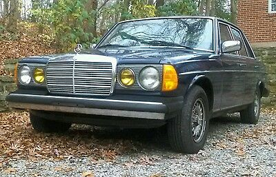 1984 Mercedes-Benz 300-Series  Mercedes 300d turbo diesel runs and looks VGood