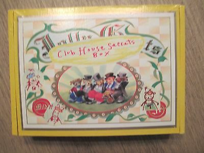 Muffy VanderBear Clubhouse Box Of Secrets w/Accessories--New Condition!