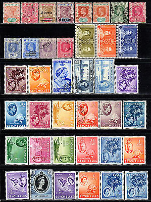 Seychelles Mint/Used Collection of All Different