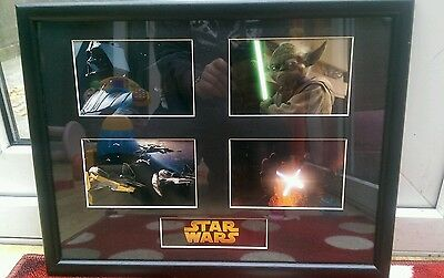 Star Wars Revenge of the Sith framed pictures mint condition 2005
