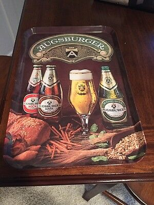 Augsburger Beer Tray Made In Italy
