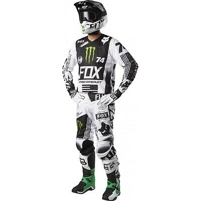 Fox Completo 180 Falcon 2017 Monsternergy Monster Energy Motocross Enduro Cross