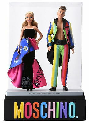 Moschino Barbie and Ken Giftset 2016 limited edition GOLD LABEL FREE SHIPPING