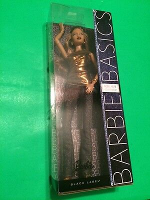 Barbie Basics Metallics Model No. 08 Collection 2.1 2.5 2010 Model Muse #t7924