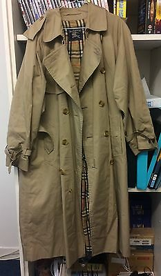 Burberry mac jacket trenchcoat vintage