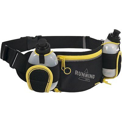 Trespass Cancan Hydration Water Bottle Waist Belt Holder Marathon Pack