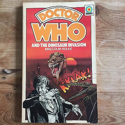 Dr Who And The Dinosaur Invasion (paperback) 1976 first edition